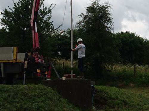 435 - SIAEP DE LA DRUANCE FORAGE EAU POTABLE LA LANDRIERE